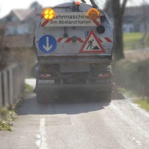 Reversing Camera System for Street Sweepers
