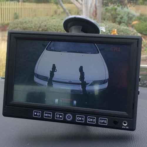 Dash Mount Reversing Camera System