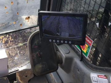 Excavator Reverse Camera monitor Installations