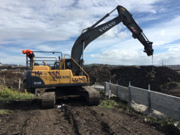 Excavator Reverse Camera Installations