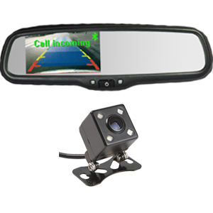 4.3`` Car Bluetooth Rear View Mirror Monitor