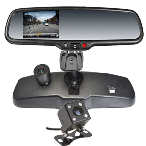 4.3`` FULL HD DVR Rearview Mirror Monitor