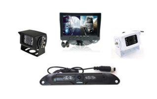 7 inch Dash Mount Reversing-2 Camera System