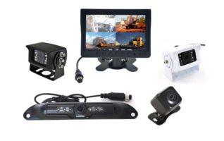 7-inch QUAD Dash Mount Reversing 4 Camera System