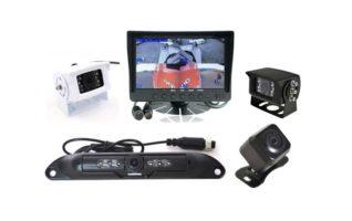 RS 7 QUAD Dash Mount Reversing 4 Camera System