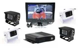rs 7 dash mount mdvr reversing 4 camera system