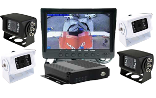 "RS 7"" Dash Mount MDVR Reversing 4 Camera Recording System"
