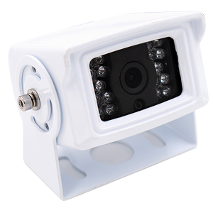 Square White Reversing Camera