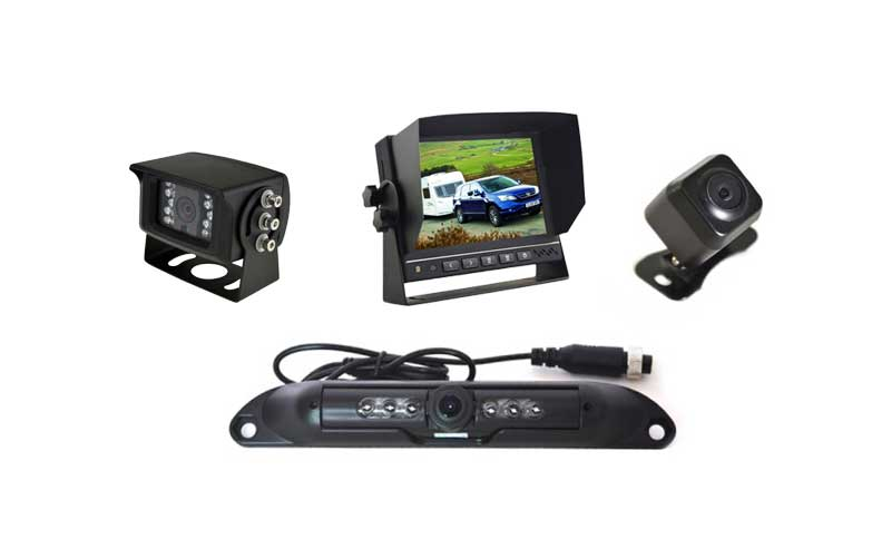 "PPA 7"" Dash Mount Reversing 1 Camera System"