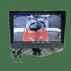 RS 7″ Colour LCD SplitScreen 4 channel Reversing Camera Monitor