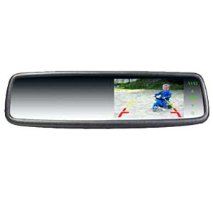 4.3 inches Car Rear View Mirror Monitor
