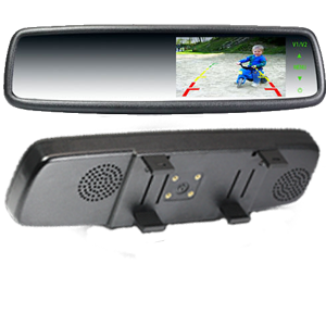 4.3 Rear View Mirror Monitor Clip Over Type