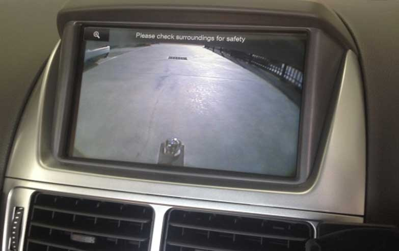 FGX UTILITY REVERSE CAMERA
