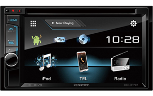 "Kenwood DDX4017BT 6.2"" WVGA DVD Receiver with Built-in Bluetooth"