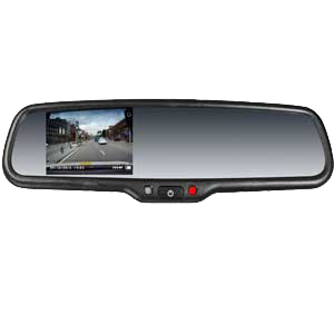 4.3 inches FULL HD DVR Rearview Mirror Monitor