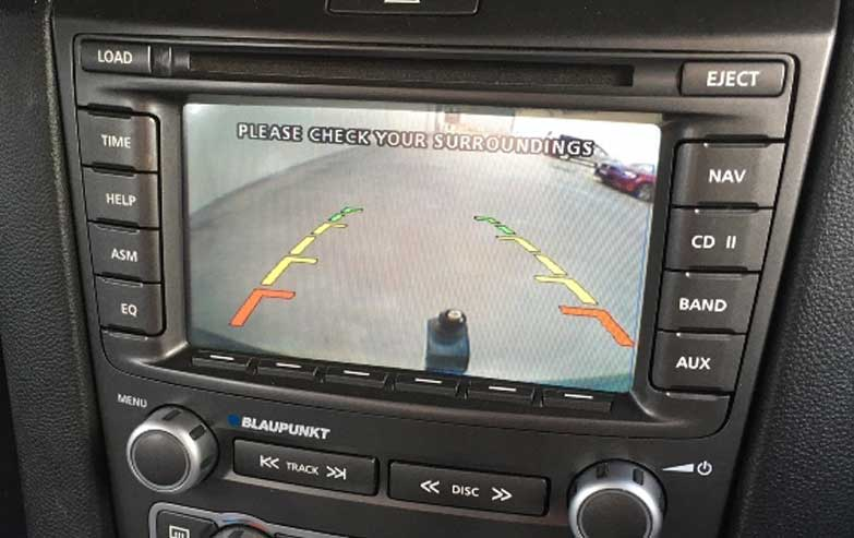 VE SERIES 1 E2 HSV REVERSE CAMERA