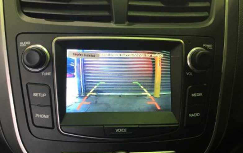 Hyundai Aftermarket Video Camera To Factory Screen