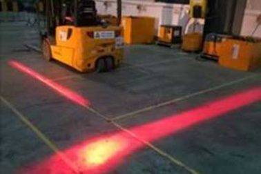 Forklift LED Red Zone Danger Warning Light