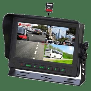 Gator GT Series Heavy Duty 7`` Quad Display DVR Monitor