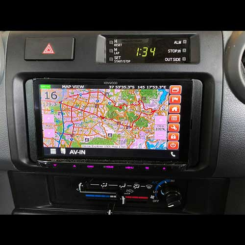 Advanced Ice NAV-KEN-1H Kenwood DDX/DMX Hema 4WD Navigation Upgrade