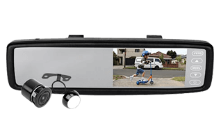"AXIS 4.3"" Rear View Mirror Kit"