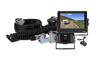 Axis 5`` Heavy Duty LED Monitor with 2 Camera Caravan Kit