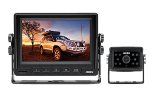 "AXIS 5"" Heavy Duty LED Monitor & Compact Camera Kit"