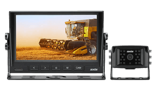 "Axis 7"" Heavy Duty LED Monitor & Heavy Duty Camera Kit"