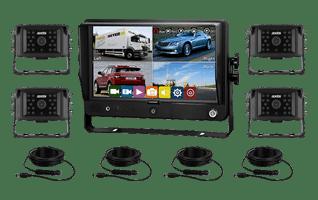 Axis 9″ Quad Recording Touchscreen Monitor 4 Camera Kit-sml