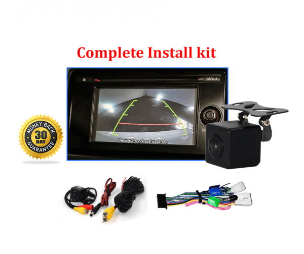 RS-Reverse Camera Kit for Mitsubishi Challenger (PC) OEM Factory Screen 2013-2015