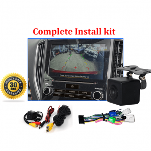 RS-Reverse Camera Kit for Subaru XV (GJ-GP) OEM Factory Screen 2017 to 2019