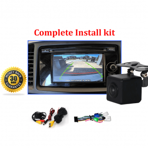 RS-Reverse Camera NTSC Kit for Mitsubishi Lancer OEM Factory Screen 2013 to 2017