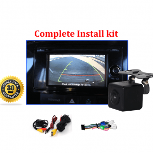 RS-Reverse Camera NTSC Kit for Mitsubishi Outlander OEM Factory Screen 2013 to 2018