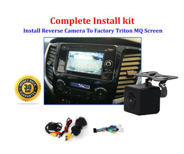 RS-Reverse Camera NTSC Kit for Mitsubishi Triton MQ OEM Factory Screen 2016 to 2019