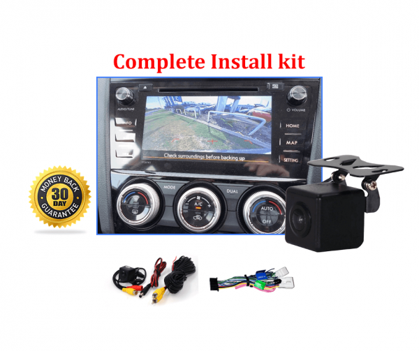 RS-Reverse Camera NTSC Kit for Subaru Forester SJ OEM Factory Screen 2015 to 2018