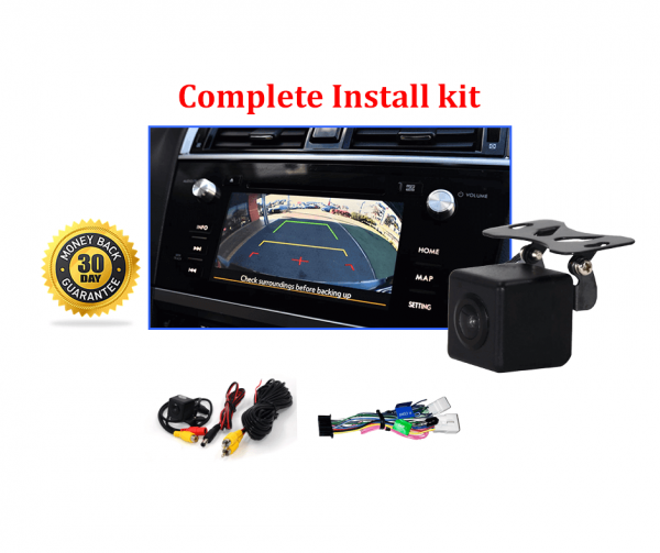 RS-Reverse Camera NTSC Kit for Subaru Outback OEM Factory Screen 2015 to 2018