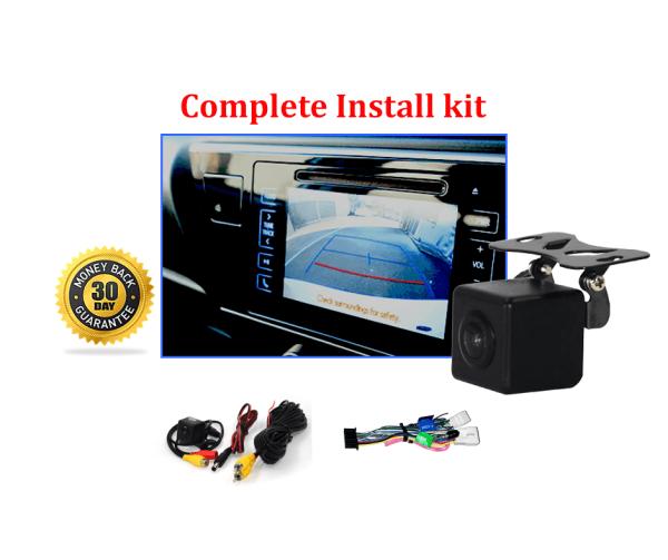 RS-Reverse Camera NTSC Kit for Toyota Corolla Sedan OEM Factory Screen 2017 to 2019