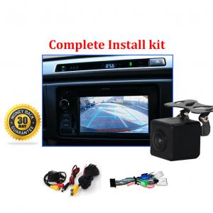RS-Reverse Camera NTSC Kit for Toyota RAV4 OEM Factory Screen 2013 to 2018