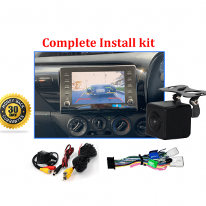 Reverse Camera NTSC Kit to suit Toyota Hilux Factory Screen 2020-2021