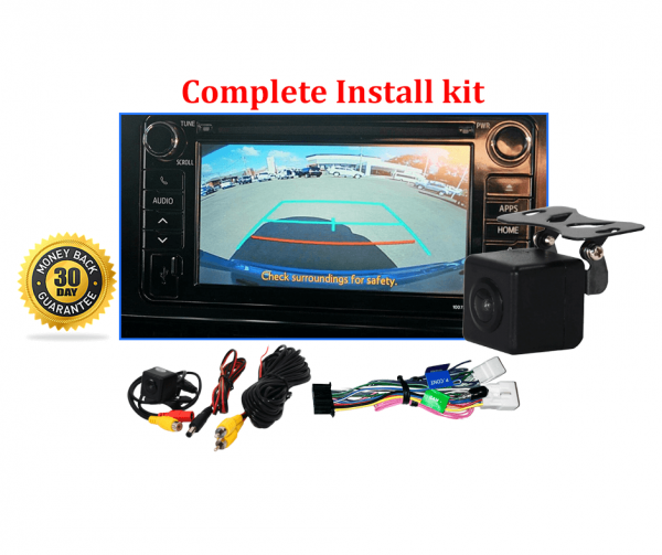 Reverse Camera NTSC Kit to suit Toyota C-HR 2017-2019 Factory Screen