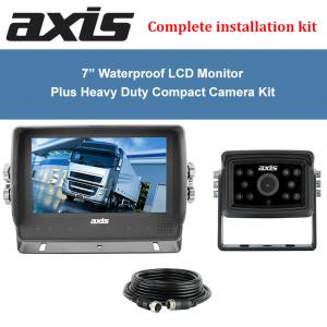 7″ WATERPROOF (IP67) LCD MONITOR
