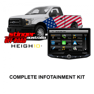 Ford F-Series Stinger HEIGH10 Infotainment Kit