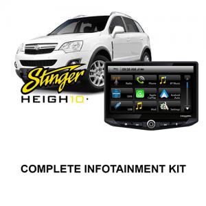 Holden Astra/Captiva Stinger HEIGH10 Infotainment Kit