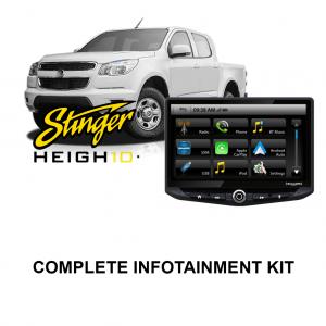 Holden Colorado 2012-2013 RG Stinger HEIGH10 Infotainment Kit
