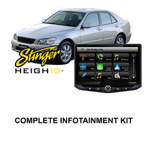 Lexus IS 1999-2005 XE10 Stinger HEIGH10 Infotainment Kit