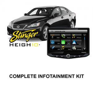 Lexus IS 2006-2015 Stinger HEIGH10 Infotainment Kit