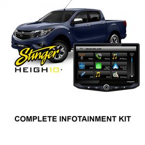 Mazda BT-50 2015–2019 Stinger HEIGH10 Infotainment Kit