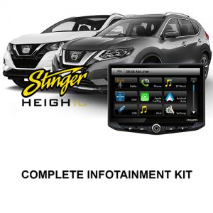 Nissan Qashqai / X-Trail Stinger HEIGH10 Infotainment Kit